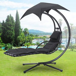 garden swing hammock helicopter hanging chair hammock seat sun lounger canopy in garden patio garden patio furniture hammocks