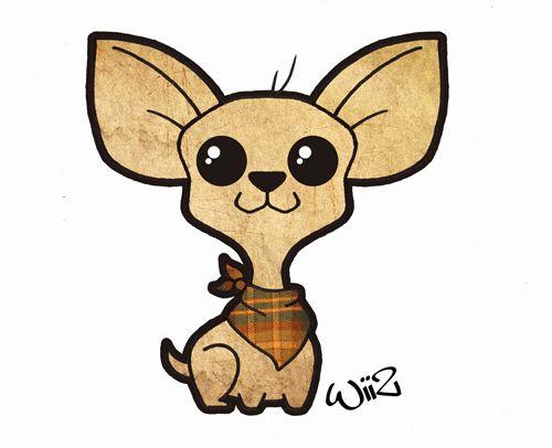 Dibujo De Chihuahua: Chihuahua Kawaii Style By Wiiz-kun.deviantart.com On