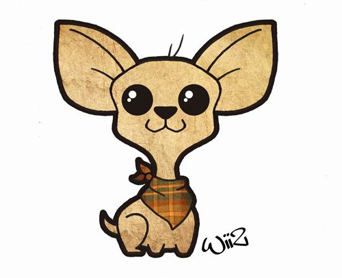Chihuahua Kawaii Style By Wiiz-kun.deviantart.com On
