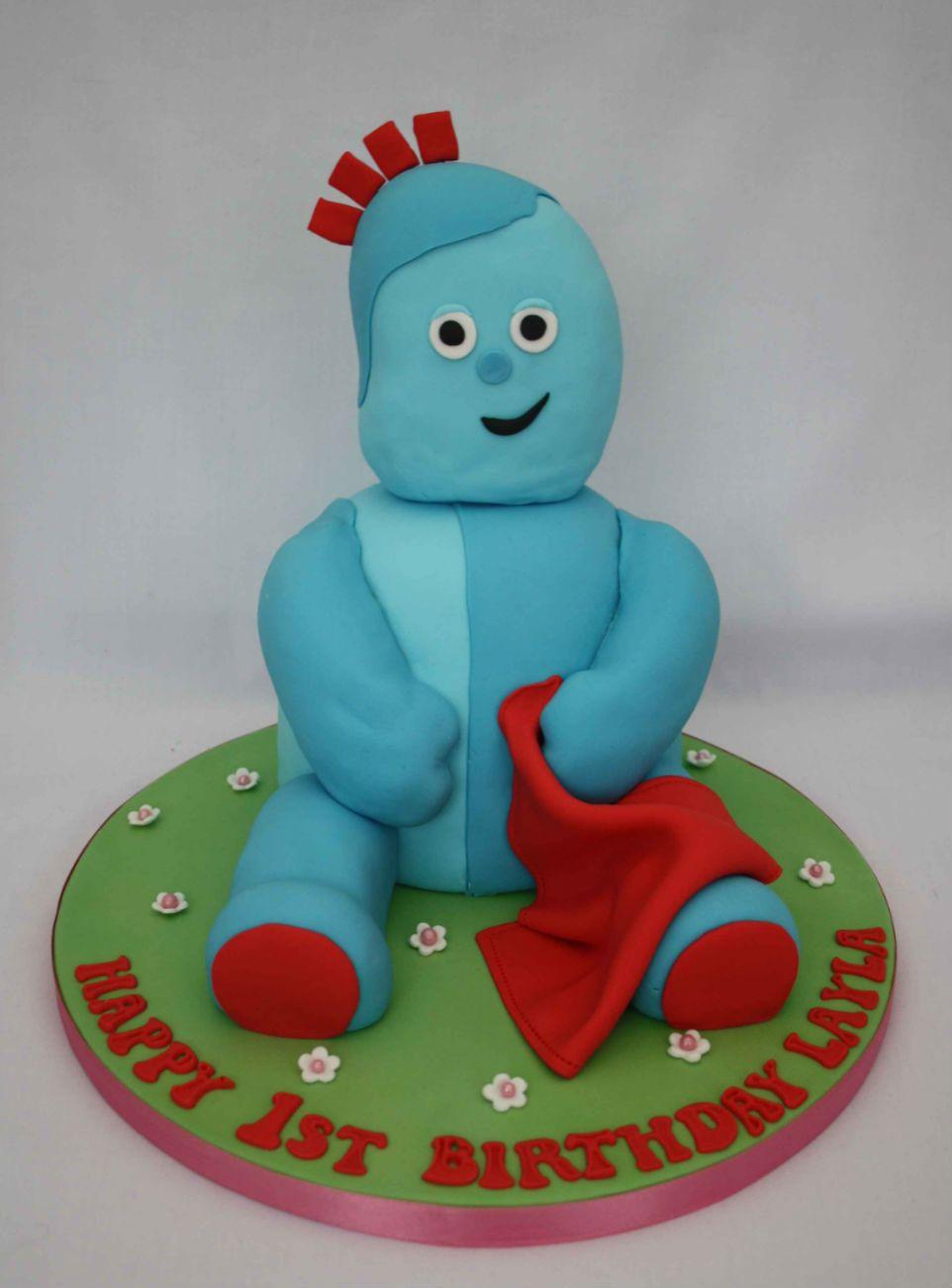 3D iggle piggle | Cake of the Week #9 - Character Cake Theme ...