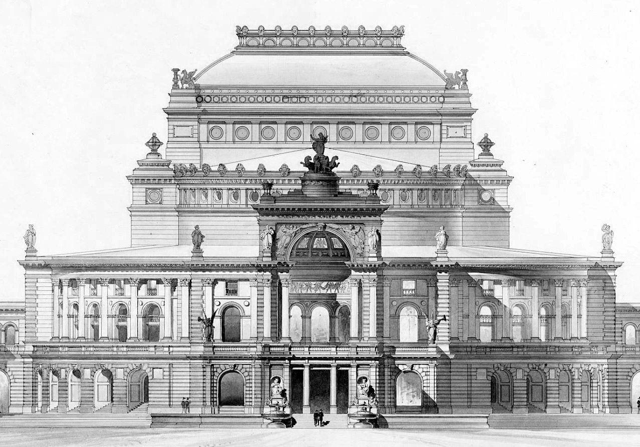Design for a Theatre, Berlin