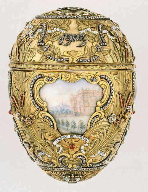Porter Carl Fabergé. 1903
