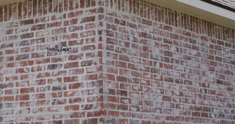 Painted Brick Fireplace Gray