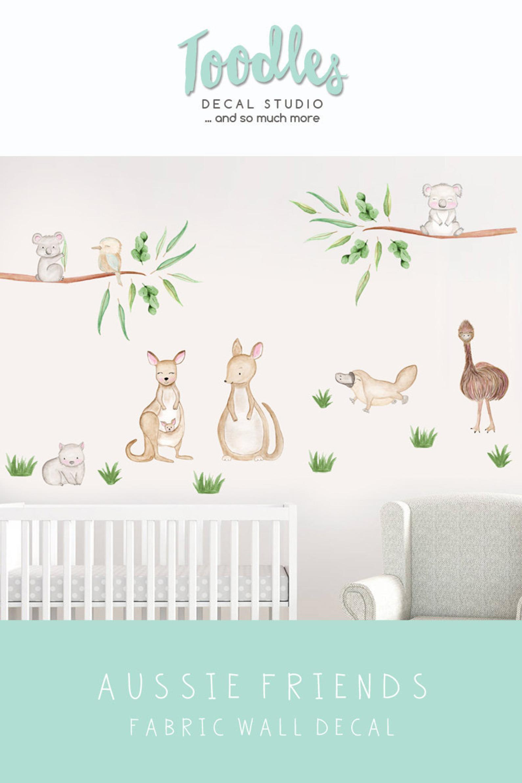 Pin By Michaela Evans On Australian Nursery In 2020 Animal Wall