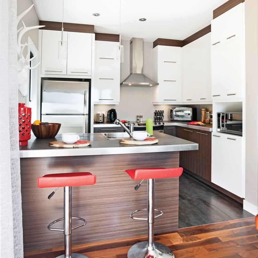 Petites cuisines modernes 19 19 + de 19 photos et idées