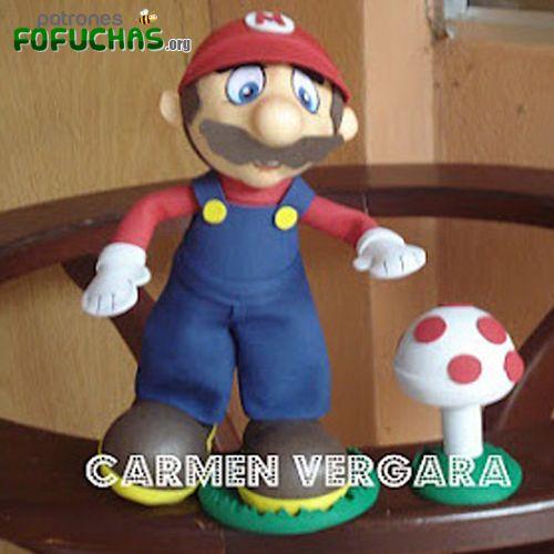 Patron Fofucho Mario Bros Descarga Estos Patrones Fofuchas Aqui