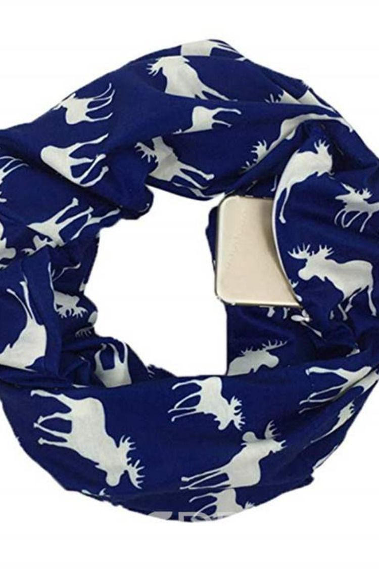 080eb7102080a Christmas Elk Colourful Scarf Item Code: 13560674 Type:Loop christmas  dresses // pretty