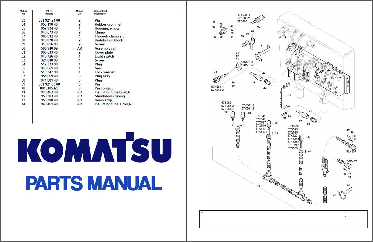 Komatsu Xt460l 3 Sn A5101 Up Parts Manual Crawler Feller Bunchers Harvesters Download Service Manual Repair Manual Pdf Download Komatsu Manual Repair Manuals