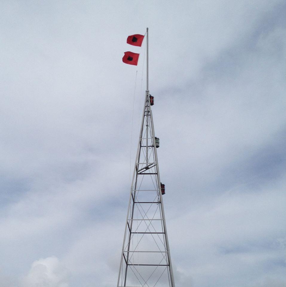 Hurricane Flags On Manteo Nc Weather Tower Nc Weather Manteo Nc Moonrise Kingdom