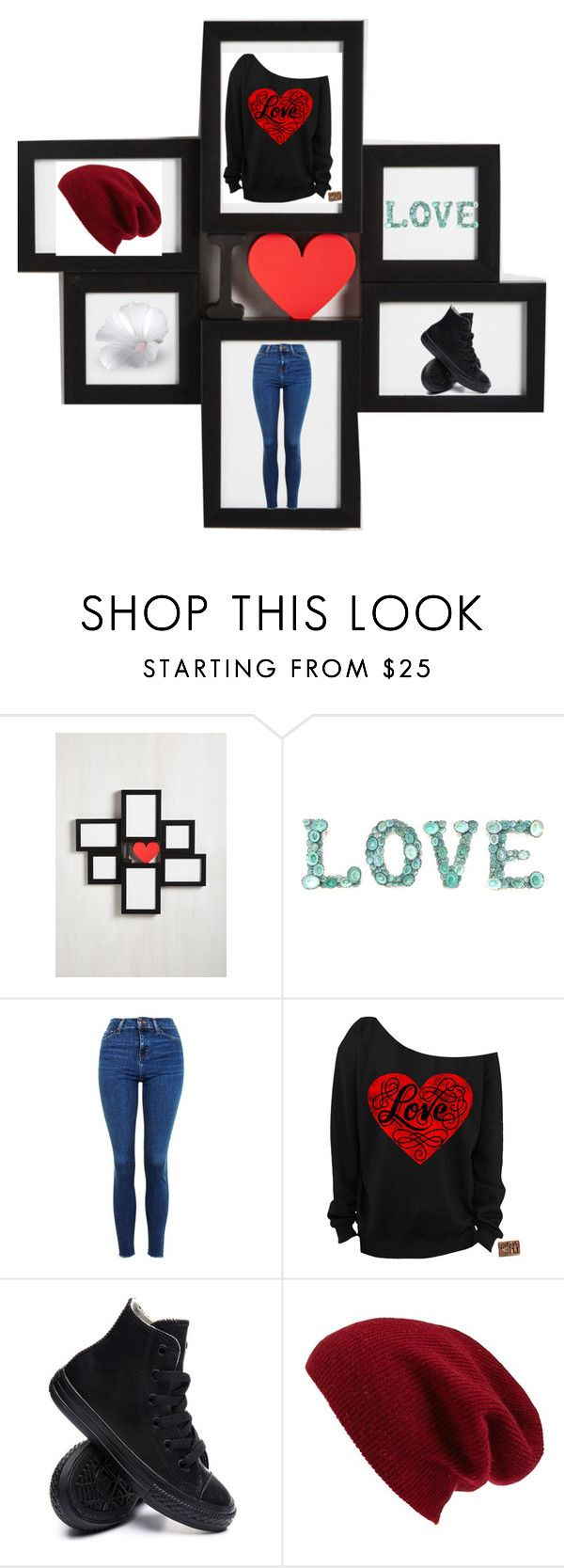 """""""You"""" by macaelaabbe ❤ liked on Polyvore featuring Topshop, Converse and Halogen"""