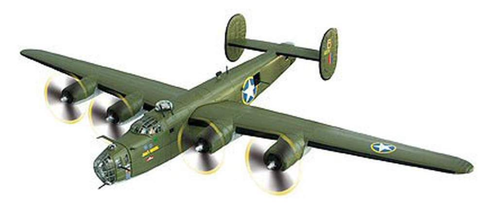 B-24D Liberator Jerk's Natural, Aviation: Diecast Direct, Inc.