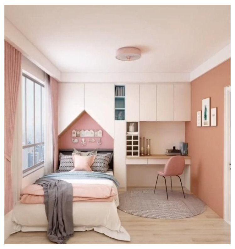 Smart Interior Design For Modern Home Small Bed Rooms Design Modern Interior Smallbedr In 2021 Small Room Design Bedroom Room Design Bedroom Tiny Bedroom Design