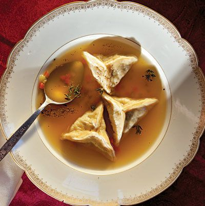 Jewish Turkey-Wonton Soup Recipe - foodandwine.com
