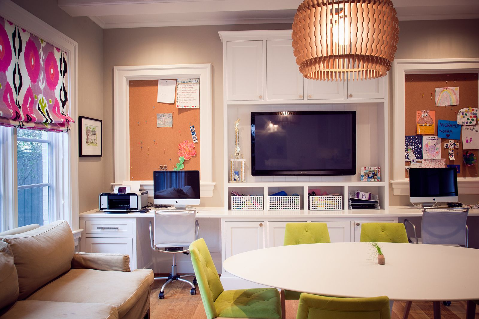 Bryn Mawr U2013 Custom Home University Park   Traditional   Home Office    Dallas   English Heritage Homes Of Texas, (craft Room Wall)