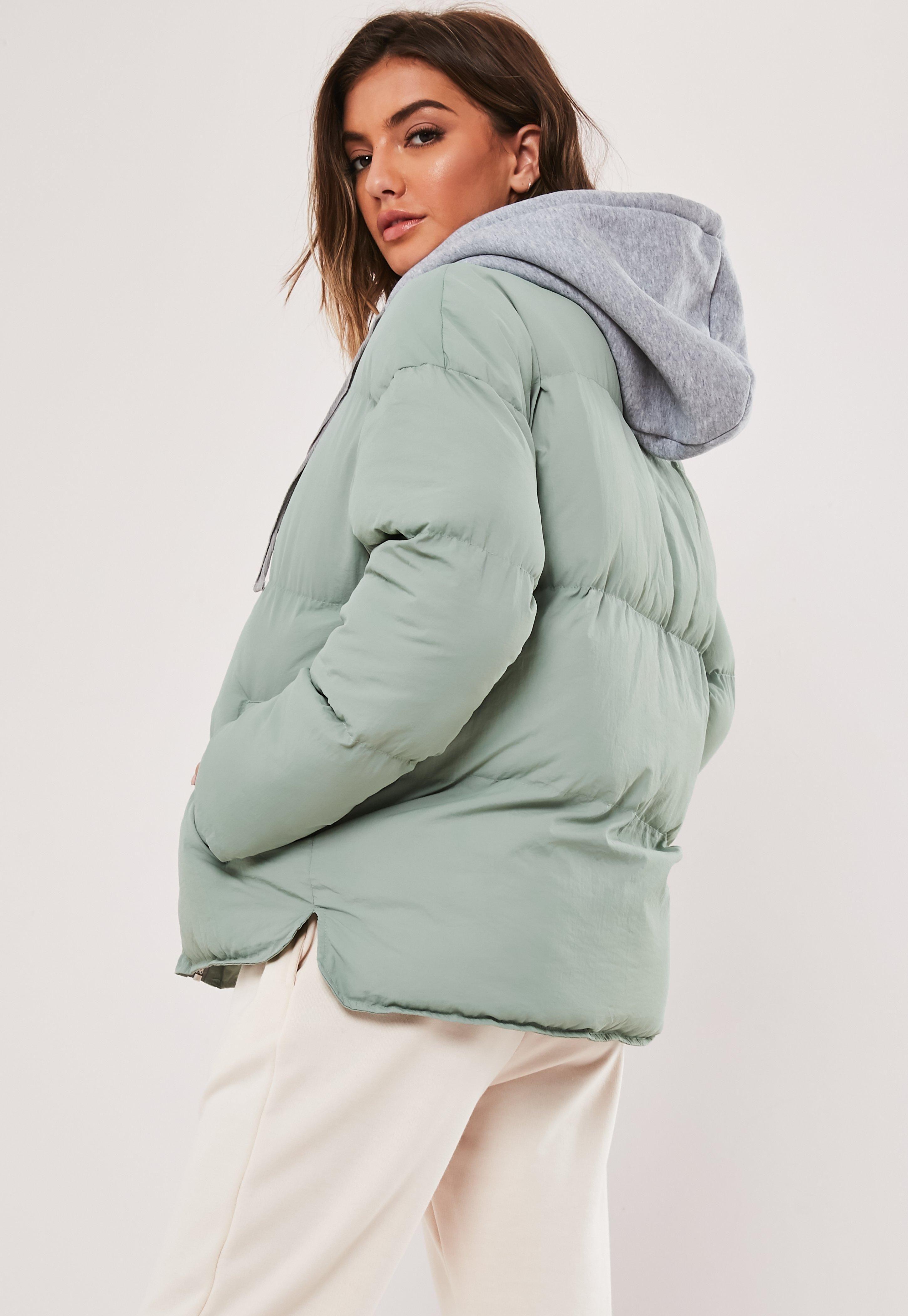 Mint Jersey Oversized Puffer Jacket Sponsored Jersey Affiliate Mint Oversized Jackets Women S Coats Jackets Jackets Online [ 4200 x 2900 Pixel ]