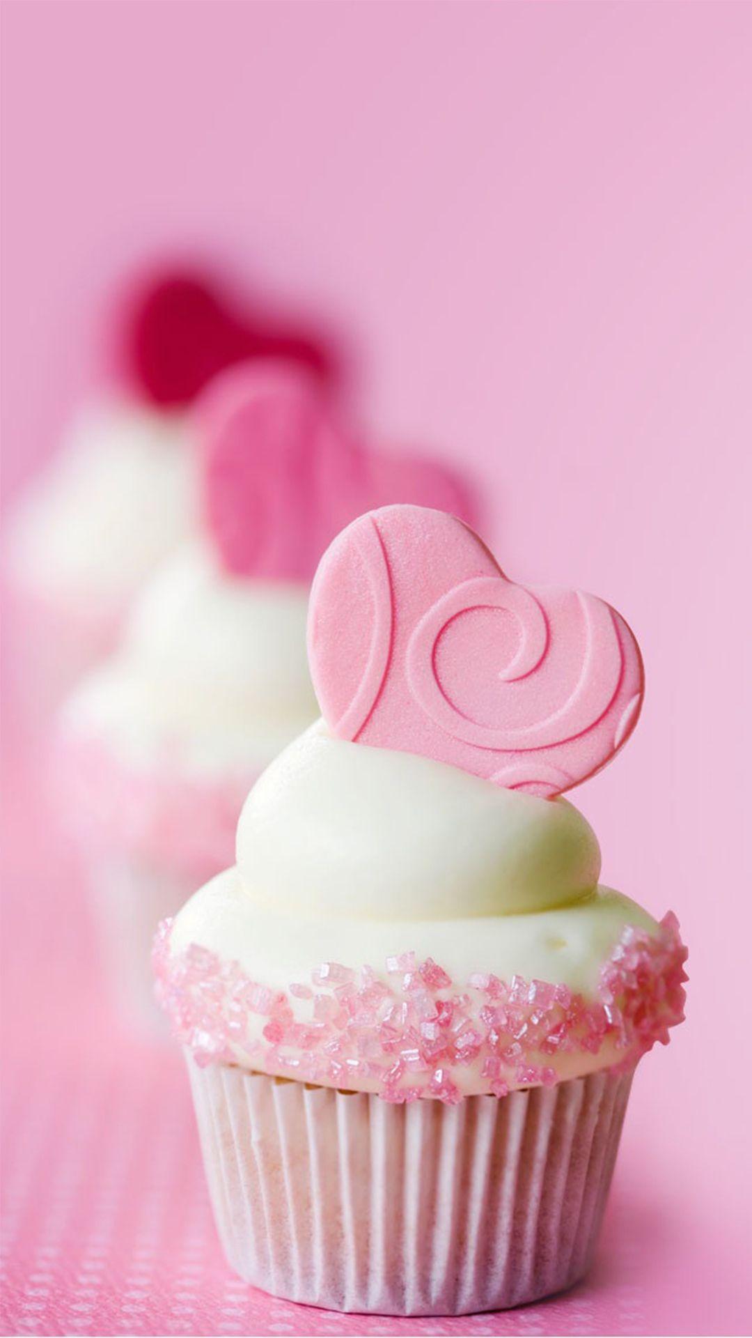 最高の壁紙 一番欲しい カップ ケーキ 壁紙 Valentines Cupcakes Desserts Valentines Food