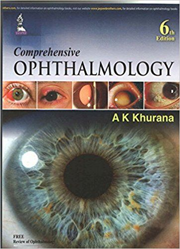 comprehensive ophthalmology sixth 6th edition books pinterest