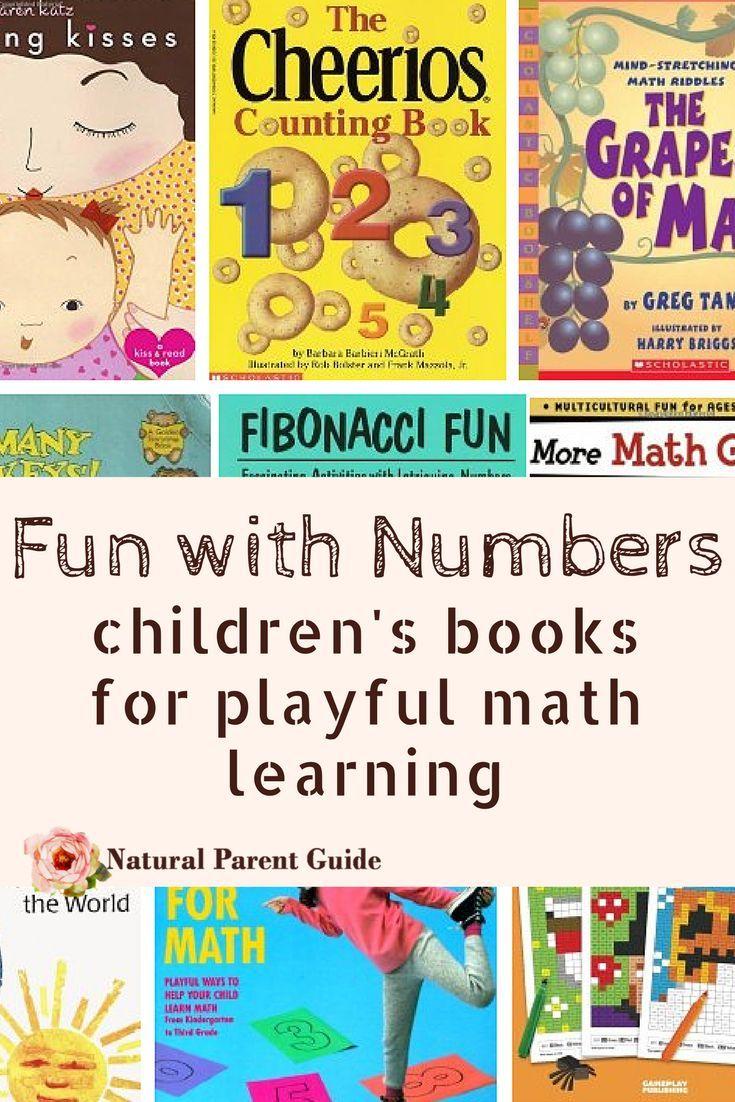 Children\'s Books for Playful Math Learning   Pinterest   Fun math ...
