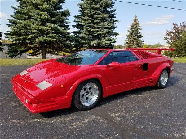 1989 Lamborghini Countach 25th Anniversary \'DownDraft\' | classic ...