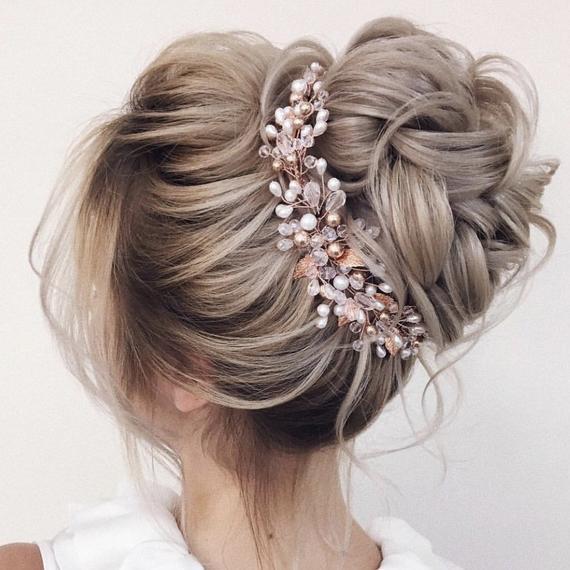 Hair pinsBridal Hair Vine Wedding Hair Piece Wedding Hair Vine Bridal Hair Piece crystal hair vine bridal hair accessory,