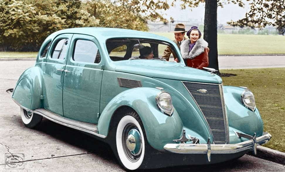 1936 Lincoln Zephyr Lincoln Zephyr Classic Cars American