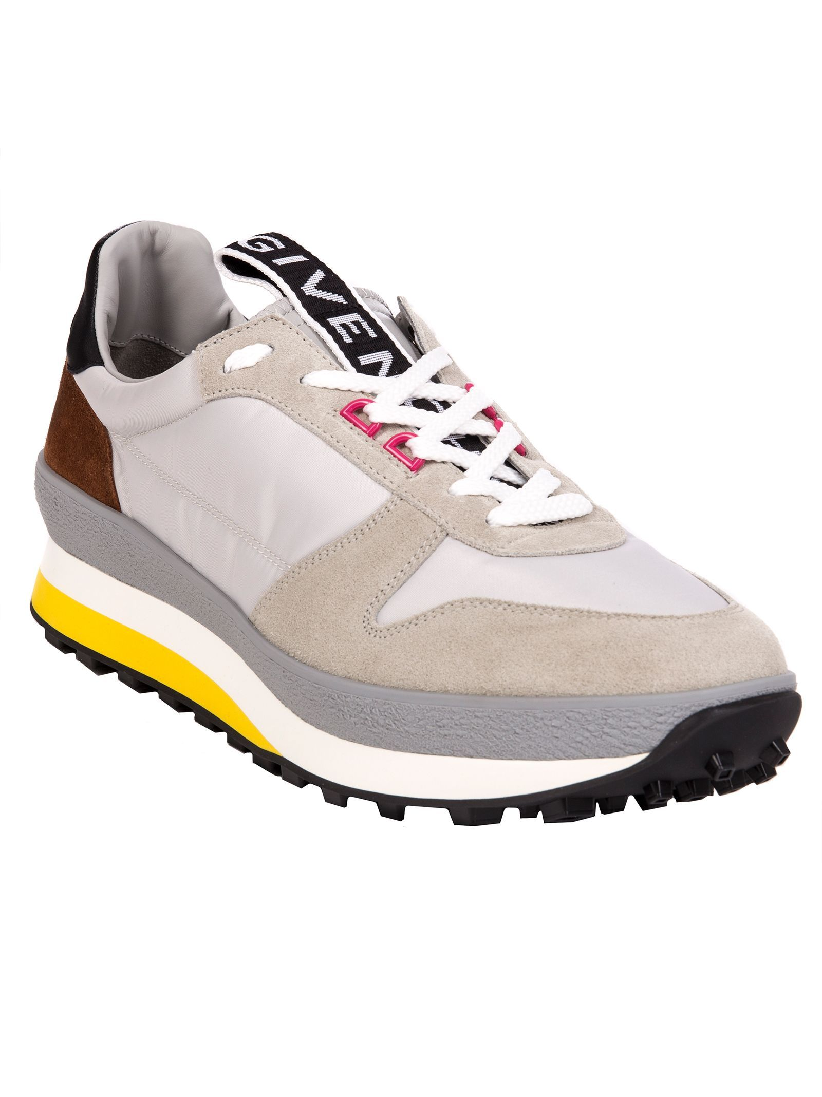 ff02af85c GIVENCHY T3 RUNNER SNEAKERS IN GREY AND YELLOW.  givenchy  shoes ...
