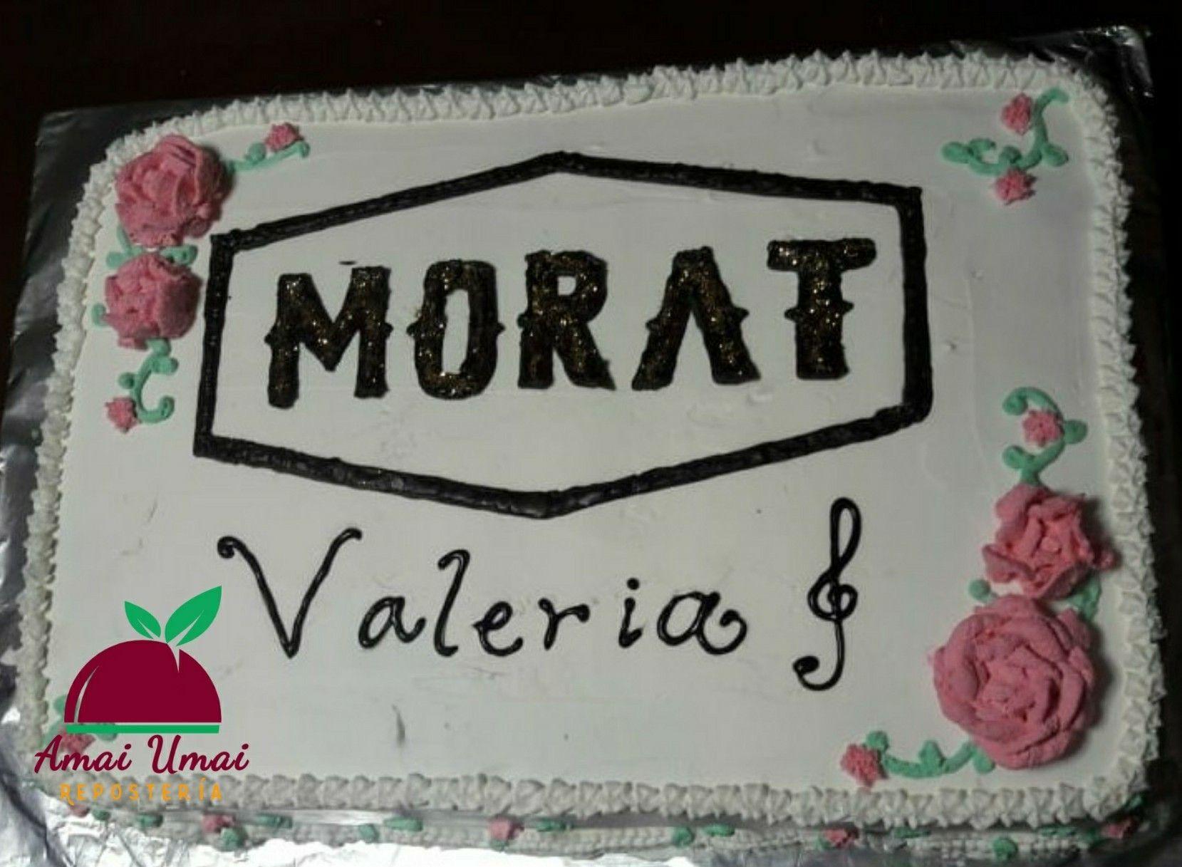 Pastel Morat Cumpleaños Decoración Casera Cumpleaños Citas De Canciones