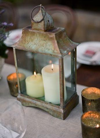 bronze, decorations, lanterns, flame, centerpieces, boudoir, miscellaneous, candles