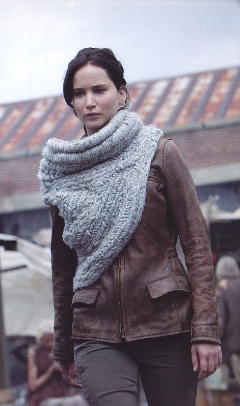 Katniss Cowl Sweater By Maria Dora Woven Not Knit Hungergames Fashion Galore Pinterest