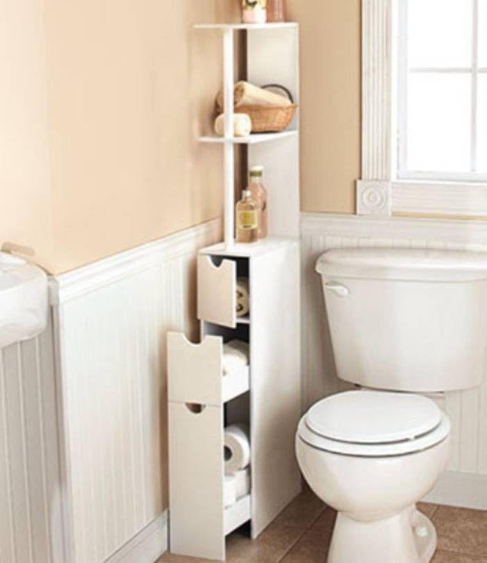 Slim Bathroom Storage Cabinet Rolling 2 Drawers Open Shelf Space Saver |  Slim Bathroom Storage Cabinet, Open Shelves And Space Saver