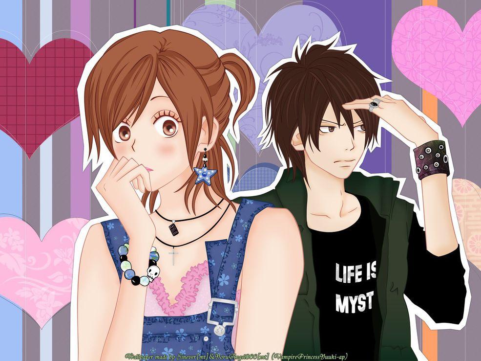 Life is a mystery Koukou Debut Wallpaper Anime manga
