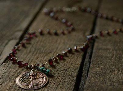 Rare Antique Tibetan Amulet Necklace