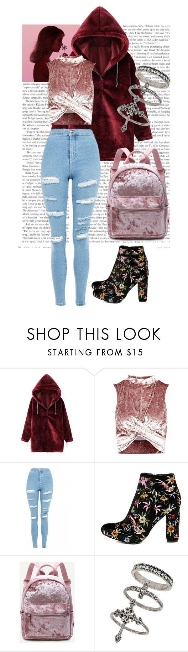 """""""Untitled #20"""" by naomy17001 ❤ liked on Polyvore featuring WithChic, Topshop, Liliana and Miss Selfridge"""