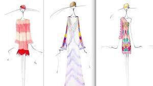 Resultado de imagen para bocetos de moda