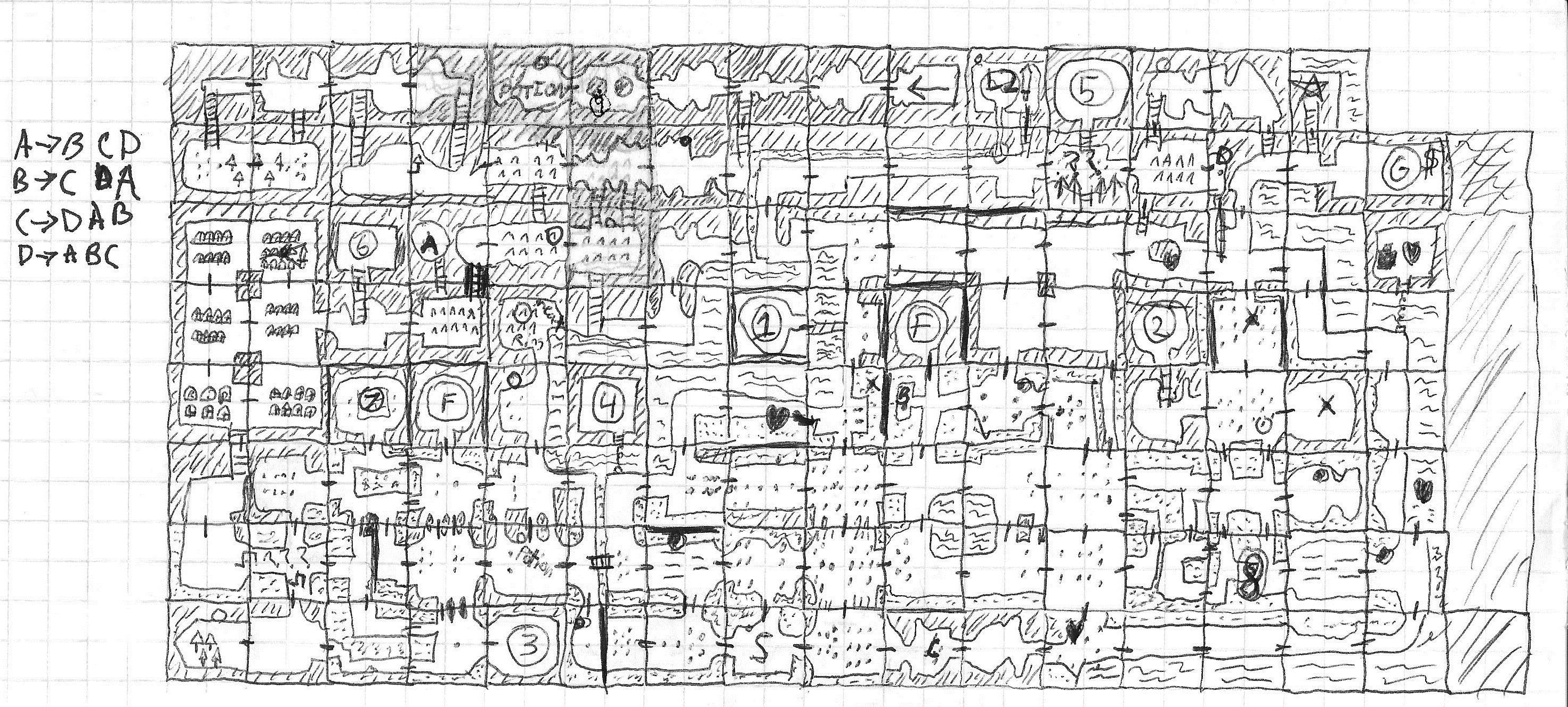 TLOZ Map Draft 2 | Hand drawn map, How to draw hands, Map