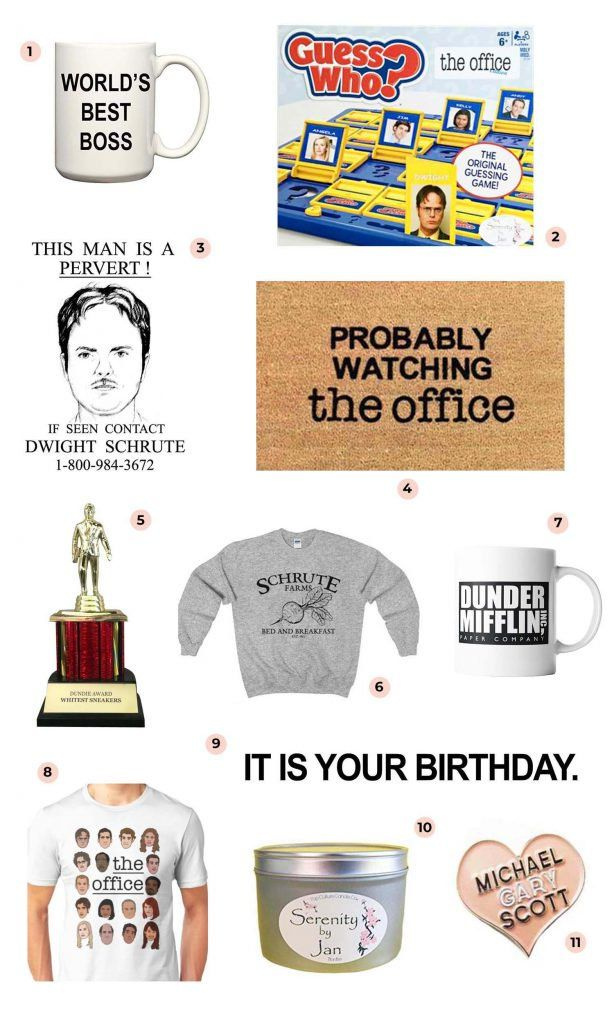 The Office Gift Guide A Beautiful Mess Office Themed Party The Office Show Office Birthday Party