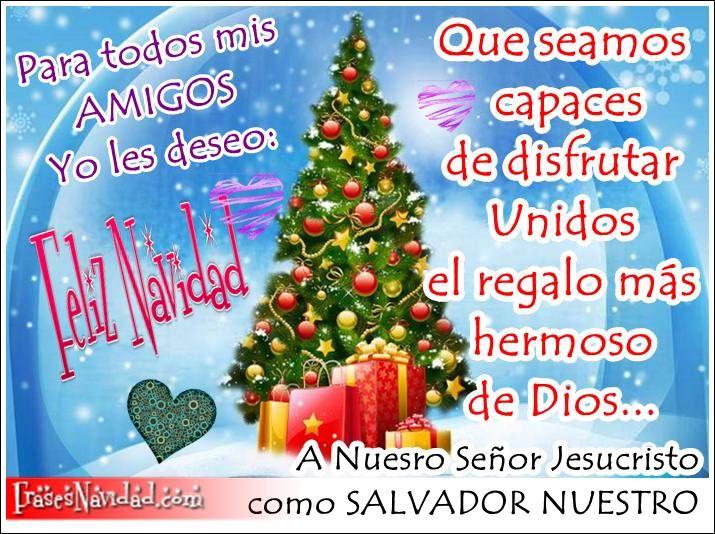 Felicitaciones Escritas De Navidad.Frases Originales Escritas En Bellas Imagenes Navidenas