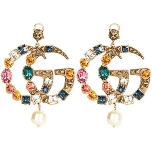 38aee4737ac Gucci Crystal Gg Earrings (33