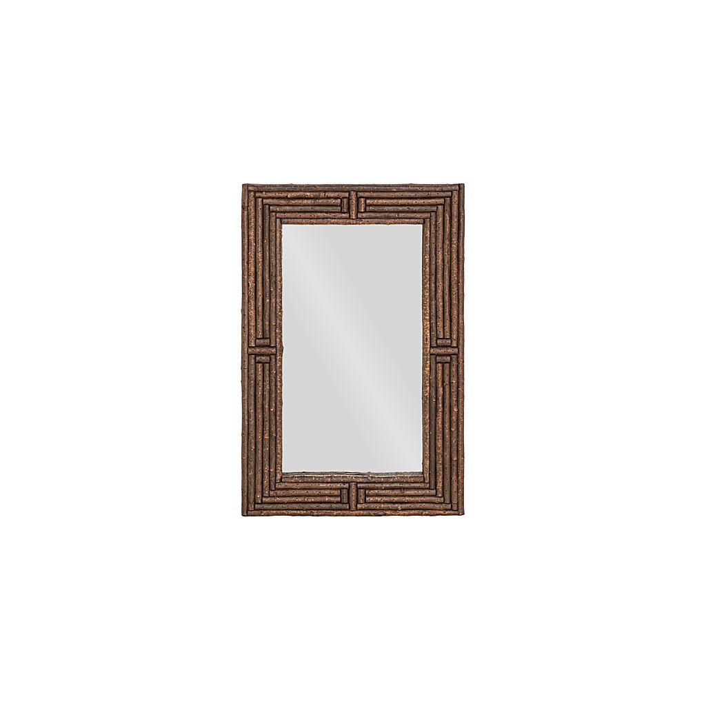 Rustic Mirror #5018 (Shown in Natural Finish)