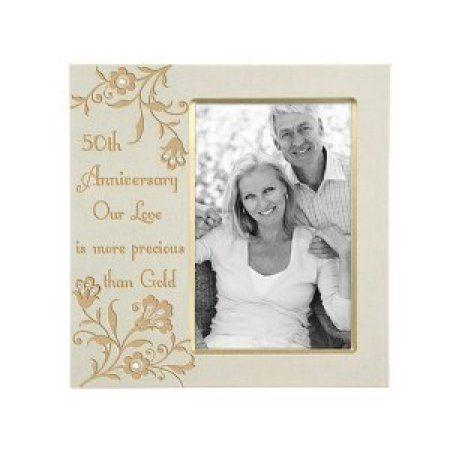 Malden 50th Anniversary Picture Frame - Walmart.com | 50th wedding ...