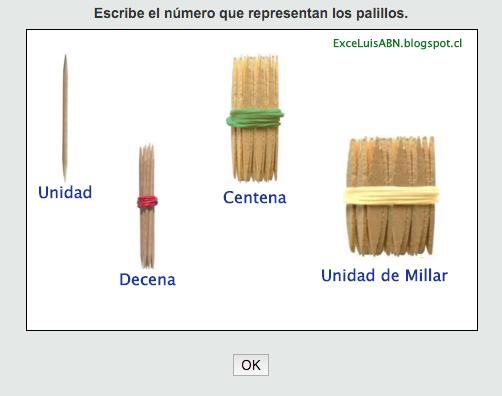 Resultado de imagen de palillos abn para imprimir | Juegos matematicas primaria, Abn matematicas y Proyectos de matemáticas
