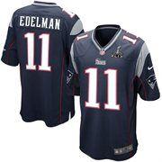 New England Patriots Julian Edelman Nike Super Bowl Xlix Game Jersey Navy Blue New England Patriots Game Jersey Patriots Nfl New England Patriots