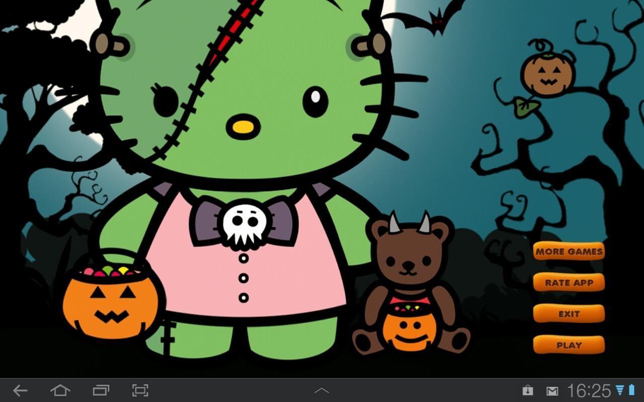 Halloween hello kitty desktop background 44 hello kitty - Hello kitty halloween ...