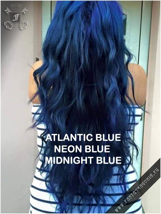 Coloring hair balsam - Neon blue #haircolor #brighthair ...