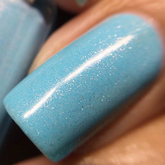 Eskimo Kisses (custom hand crafted nail polish)