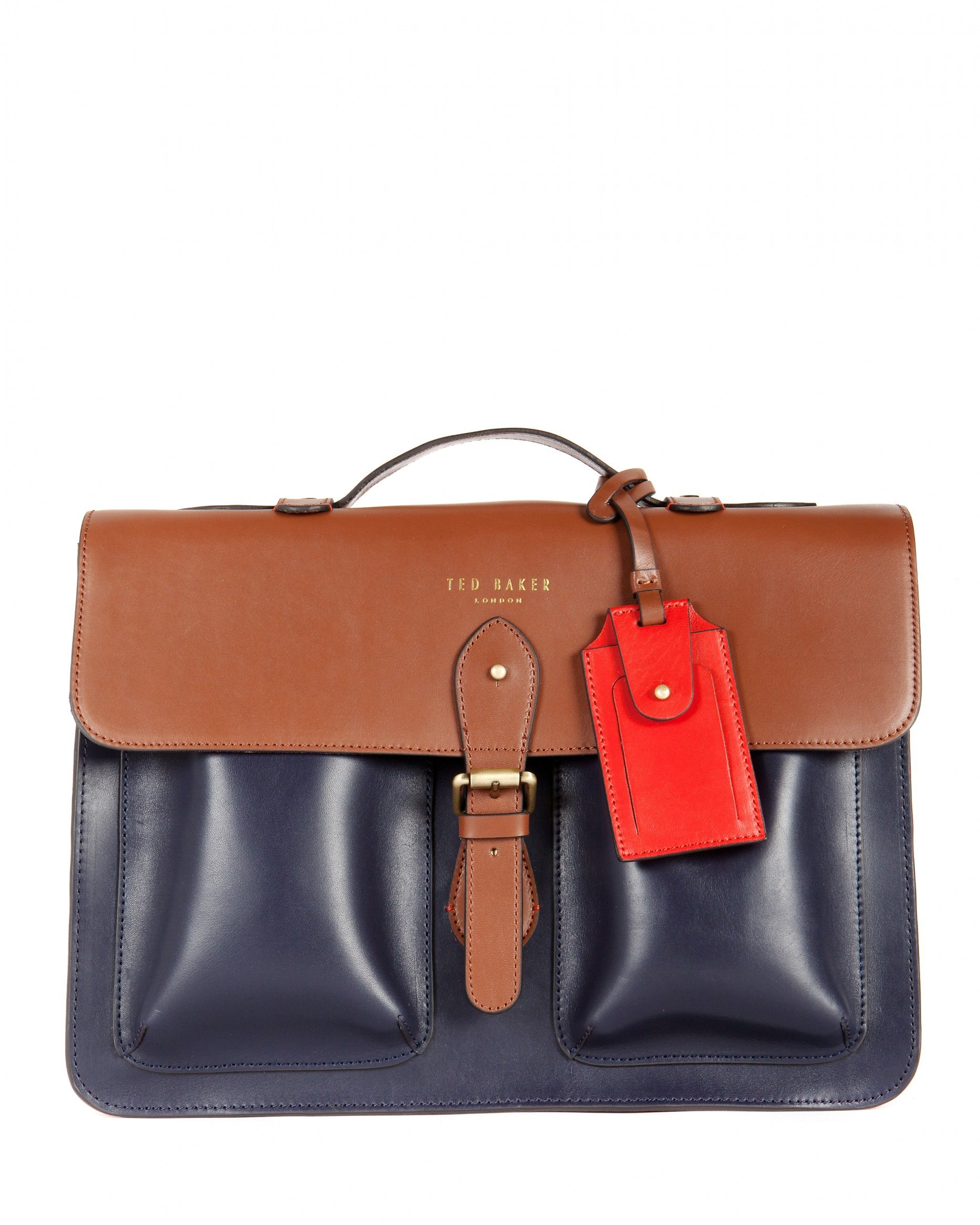 4bef1e61c2b61d Mixed leather satchel - HARLEMM - Ted Baker  345