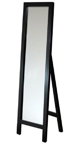 #5. Easel Espresso Floor Mirror