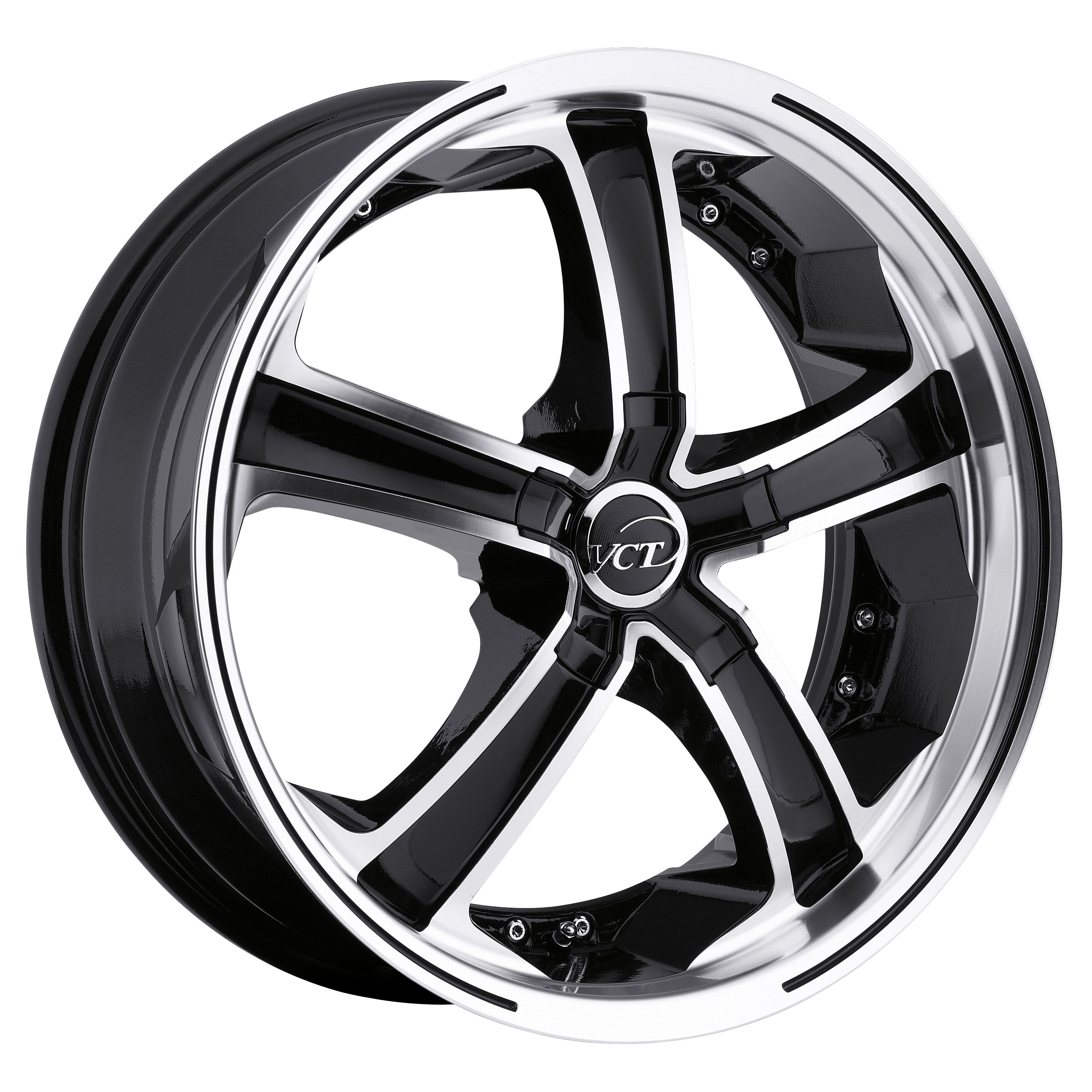 VCT Wheels Massino Black/Machined