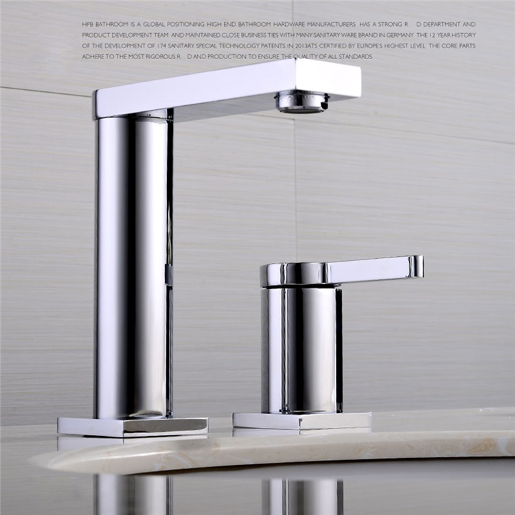 洗面蛇口 バス水栓 浴室蛇口 混合水栓 水道金具 クロム Fttb016 画像