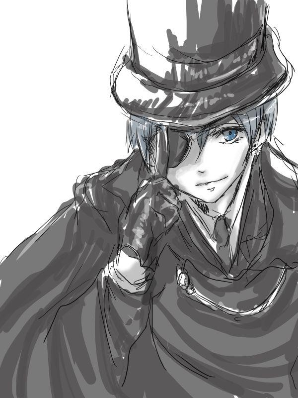 Ciel Phantomhive #black butler #anime #manga